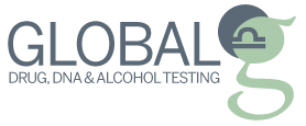 Global Drug, DNA and Alcohol Testing Logo